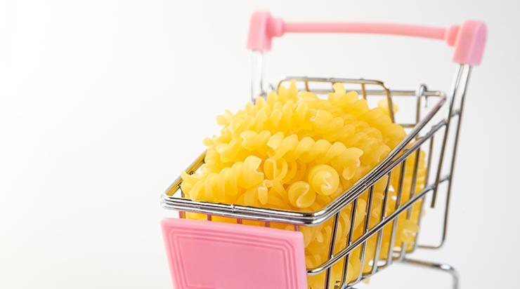 Osservatorio dei consumi online: la pasta